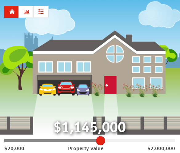 Adding some fun to mortgage calculations with animation